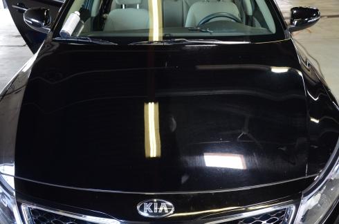 2015 Kia Optima black