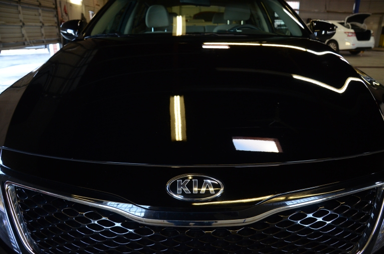 2015 Kia Optima black